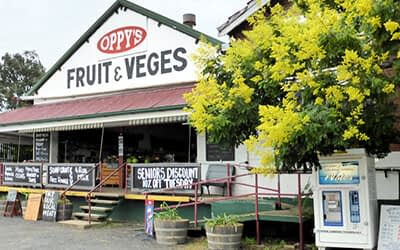 Oppy's fruit and veges front store